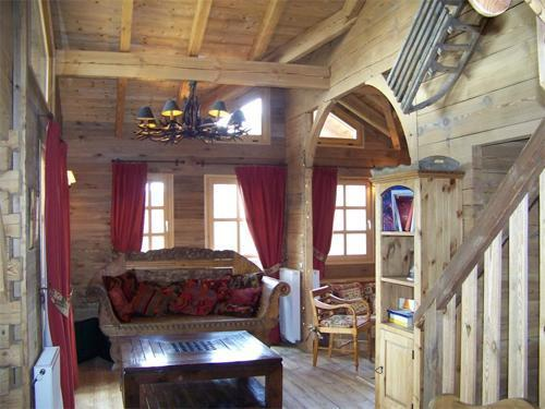 Location à Alpe d'Huez, CHALET MELUSINE