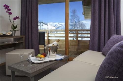 Location au ski Hotel L'alpenrose - Alpe d'Huez - Chambre