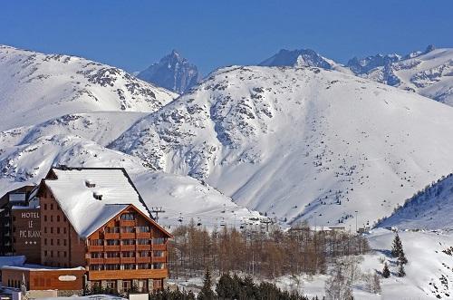 Chambre double club alpe d 39 huez alpes du nord hotel le pic blanc ski planet - Chambre d hote alpes d huez ...