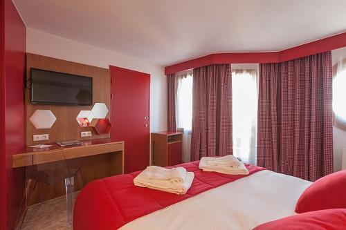 Location au ski Hotel Royal Ours Blanc - Alpe d'Huez - Chambre