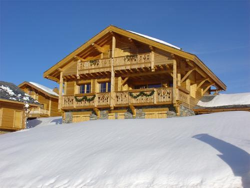 Ski en mars Les Chalets De L'altiport