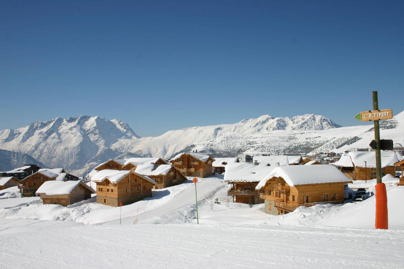Residenza direttamente sulle piste Les Chalets De L'altiport