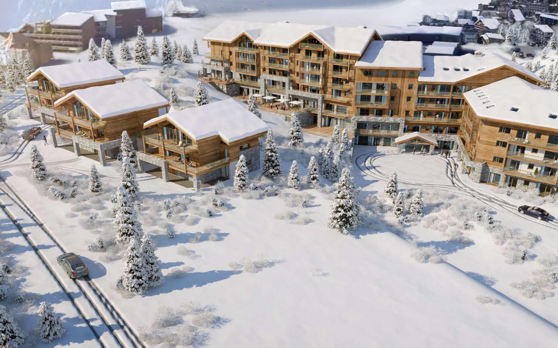 Alpe d´Huez - Résidence Chalet des Neiges Daria-I Nor - Appartement 5 pièces cabine 10 personnes