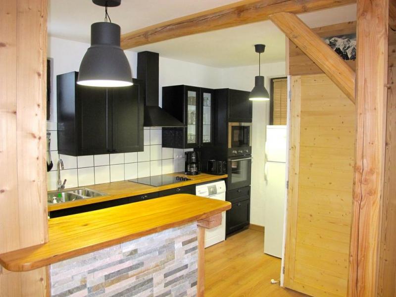 Location au ski Chalet Alpenvue - Alpe d'Huez - Cuisine ouverte