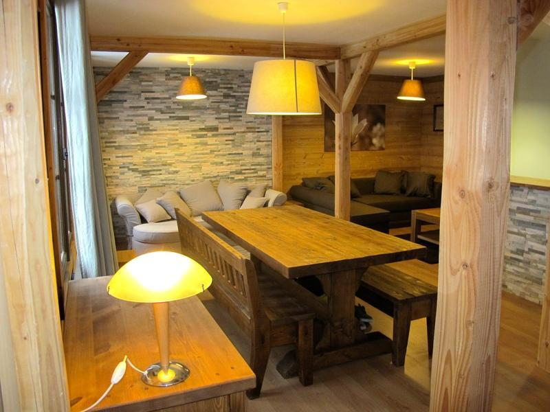 Аренда на лыжном курорте Chalet Alpenvue - Alpe d'Huez - Столова&