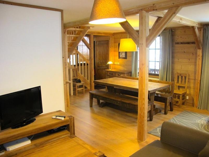 Location au ski Chalet Alpenvue - Alpe d'Huez - Salle à manger
