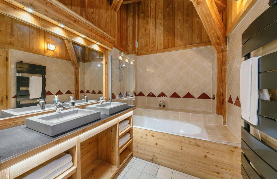 Аренда на лыжном курорте Chalet Bouquetin - Alpe d'Huez - Ванная