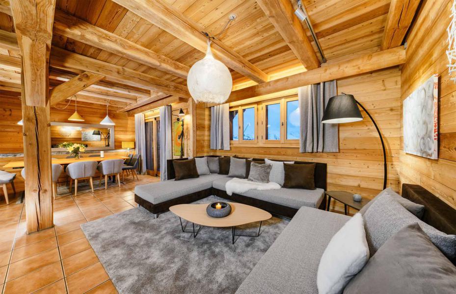 Аренда на лыжном курорте Chalet Bouquetin - Alpe d'Huez - Сиденье банкетка