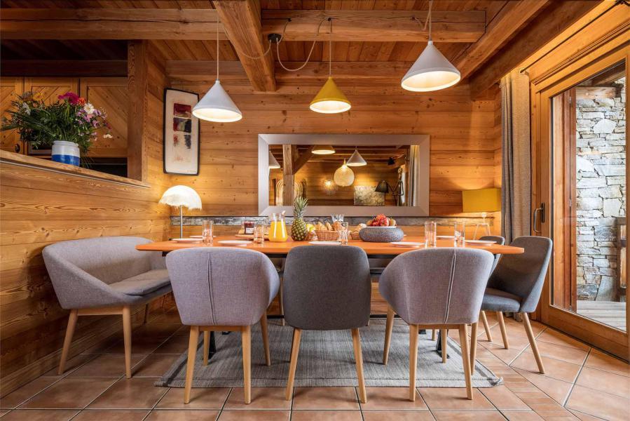 Аренда на лыжном курорте Chalet Bouquetin - Alpe d'Huez - Столова&