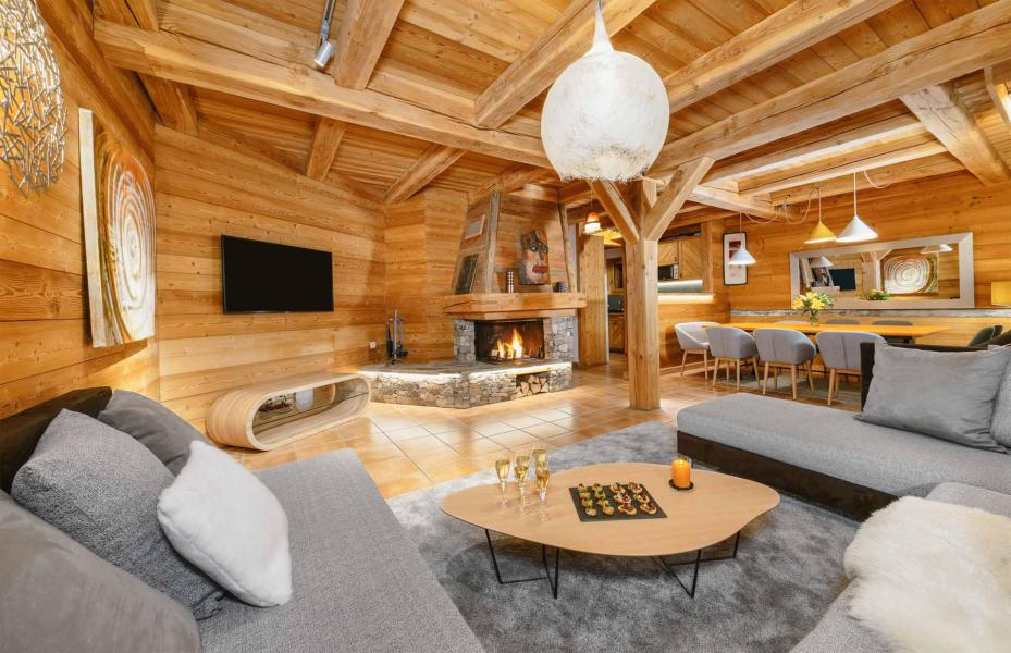 Аренда на лыжном курорте Chalet Bouquetin - Alpe d'Huez - Диван