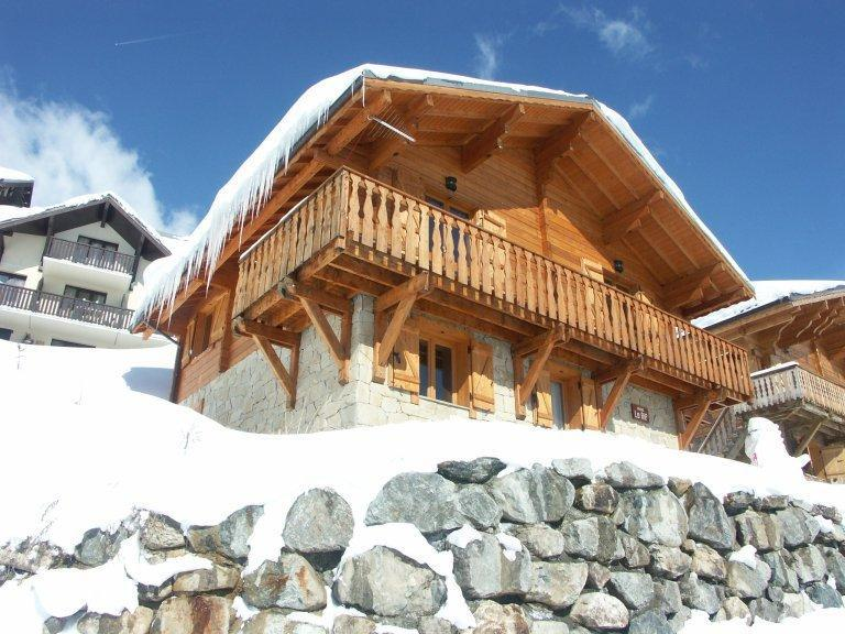 Vacanze in montagna Chalet les Sapins - Alpe d'Huez - Esteriore inverno