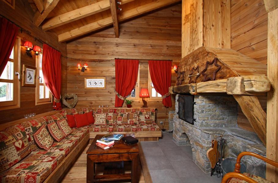 Location au ski Chalet Mélusine - Alpe d'Huez - Coin séjour