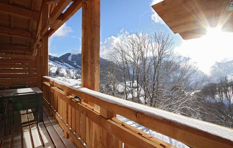 Vakantie in de bergen Chalet Nuance de Blanc - Alpe d'Huez - Buiten winter