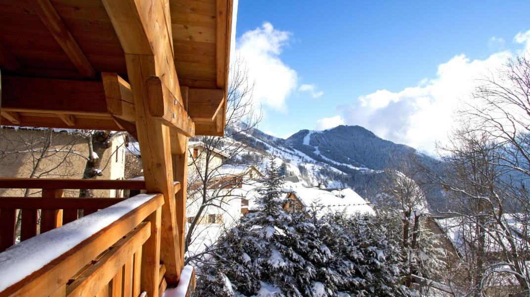 Location au ski Chalet Nuance de Bleu - Alpe d'Huez - Extérieur hiver