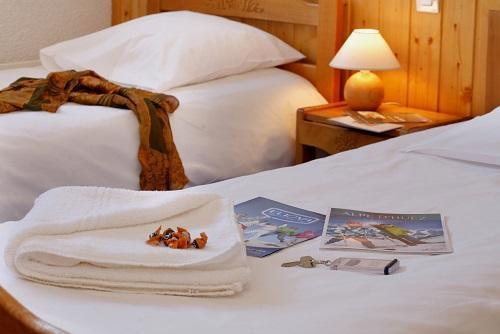 Location au ski Hôtel Eliova le Chaix - Alpe d'Huez - Chambre