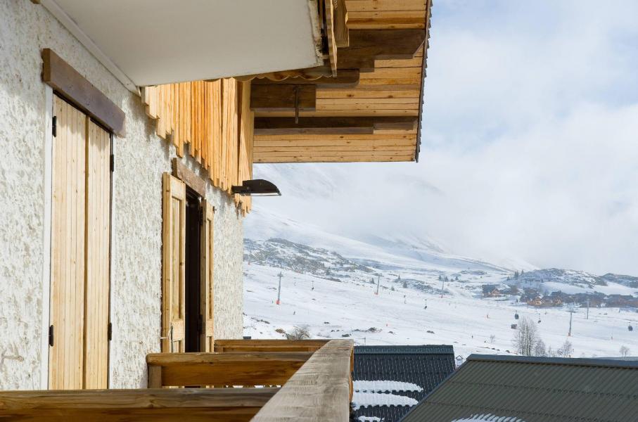 Location au ski Hôtel le Christina - Alpe d'Huez - Extérieur hiver