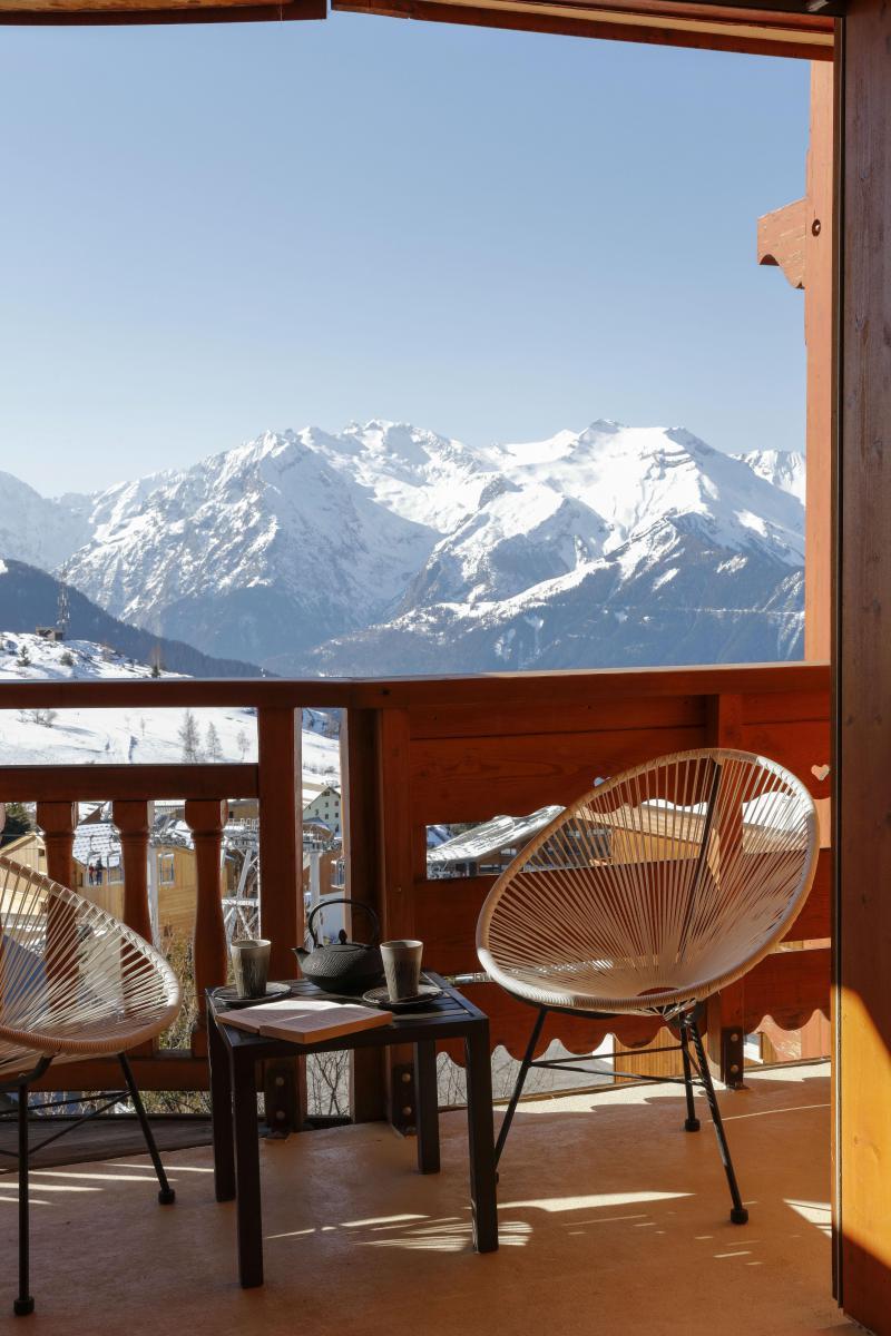 Soggiorno sugli sci Hôtel les Grandes Rousses - Alpe d'Huez - Balcone