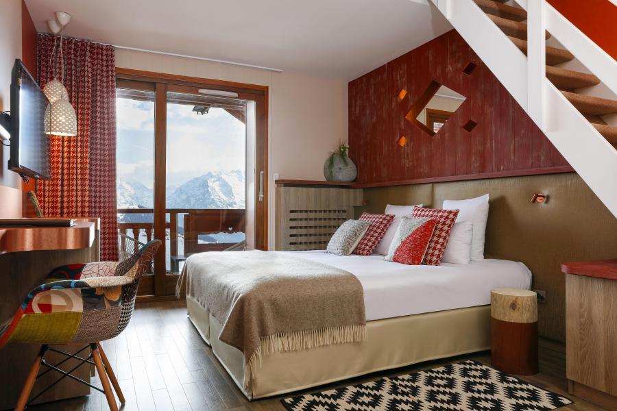 Soggiorno sugli sci Hôtel les Grandes Rousses - Alpe d'Huez - Letto matrimoniale