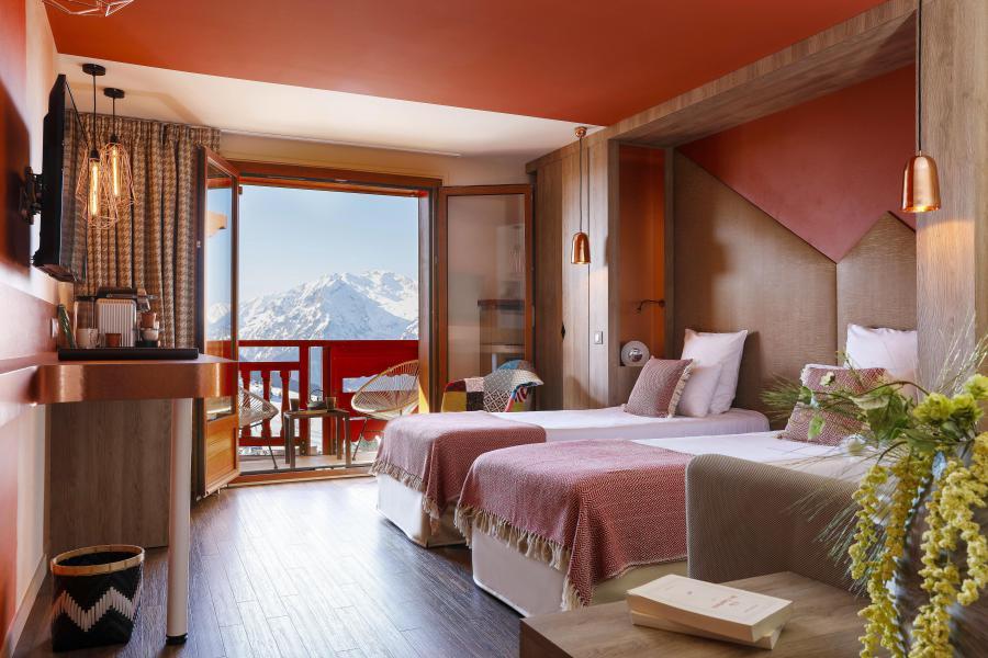 Location au ski Hôtel les Grandes Rousses - Alpe d'Huez - Lit simple