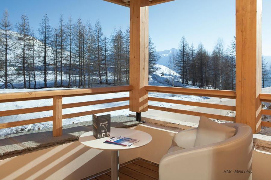 Alquiler al esquí L'Alpenrose Lagrange - Alpe d'Huez - Balcón