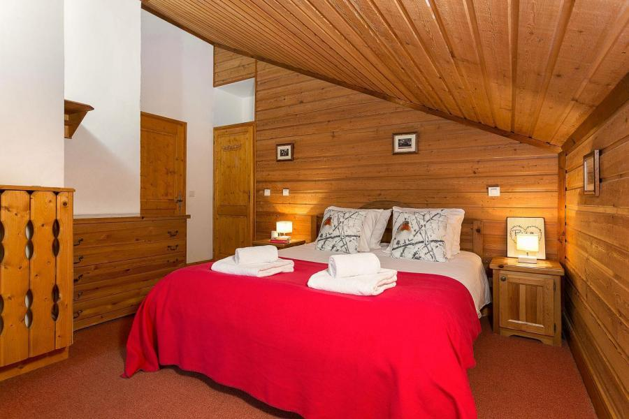 Skiverleih Les Chalets de l'Altiport - Alpe d'Huez - Doppelbett