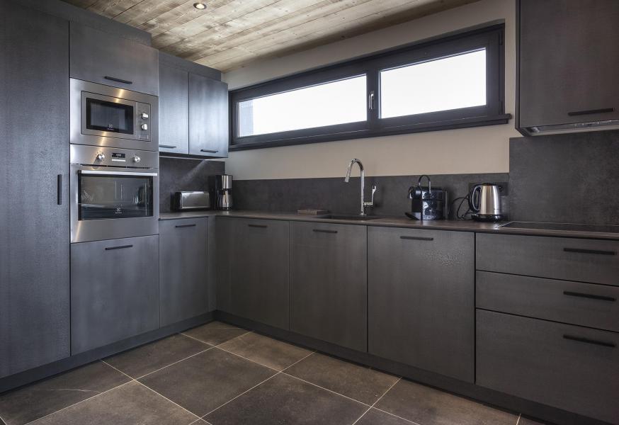 Location au ski Appartement 2 pièces cabine 2-4 personnes (HOPE 1) - Les Chalets du Daria - Alpe d'Huez - Cuisine