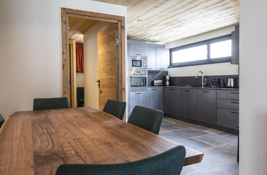 Location au ski Appartement 2 pièces cabine 2-4 personnes (HOPE 1) - Les Chalets du Daria - Alpe d'Huez - Salle à manger