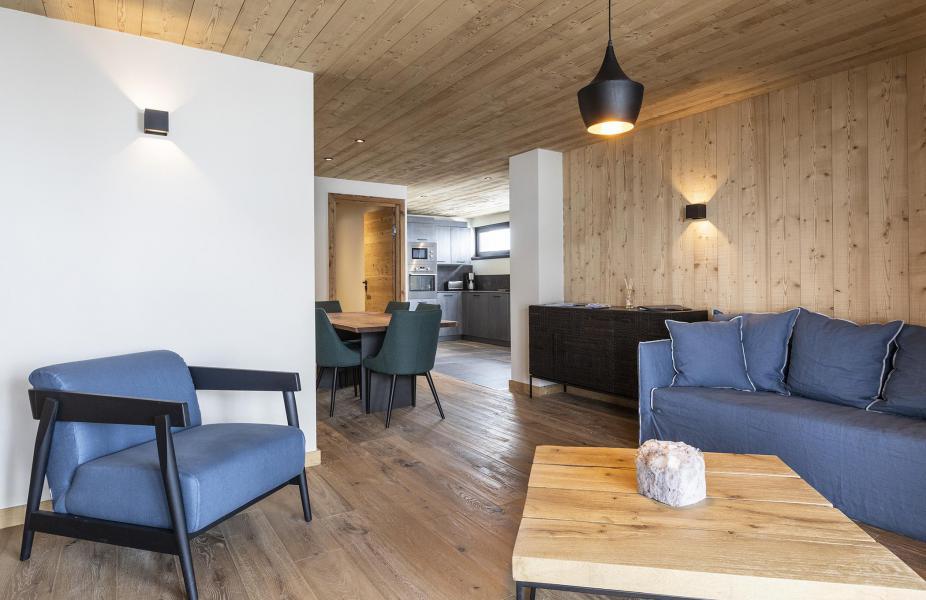 Location au ski Appartement 2 pièces cabine 2-4 personnes (HOPE 1) - Les Chalets du Daria - Alpe d'Huez - Séjour