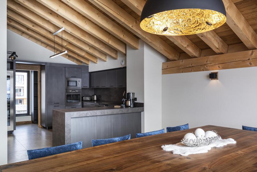 Location au ski Chalet 5 pièces 8 personnes (BLUE MOON) - Les Chalets du Daria - Alpe d'Huez - Cuisine