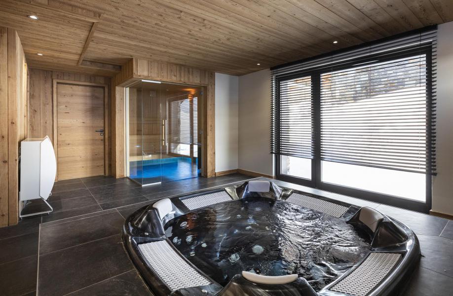 Location au ski Chalet 5 pièces 8 personnes (BLUE MOON) - Les Chalets du Daria - Alpe d'Huez - Jacuzzi