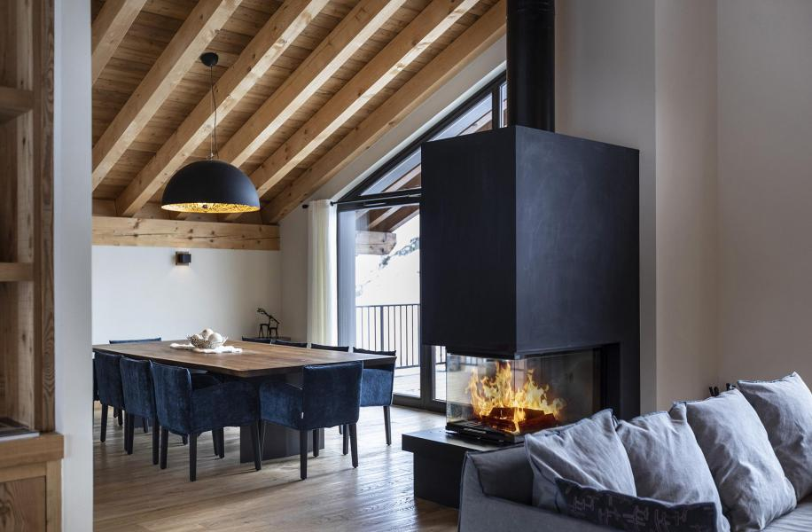 Location au ski Chalet 5 pièces 8 personnes (BLUE MOON) - Les Chalets du Daria - Alpe d'Huez - Séjour