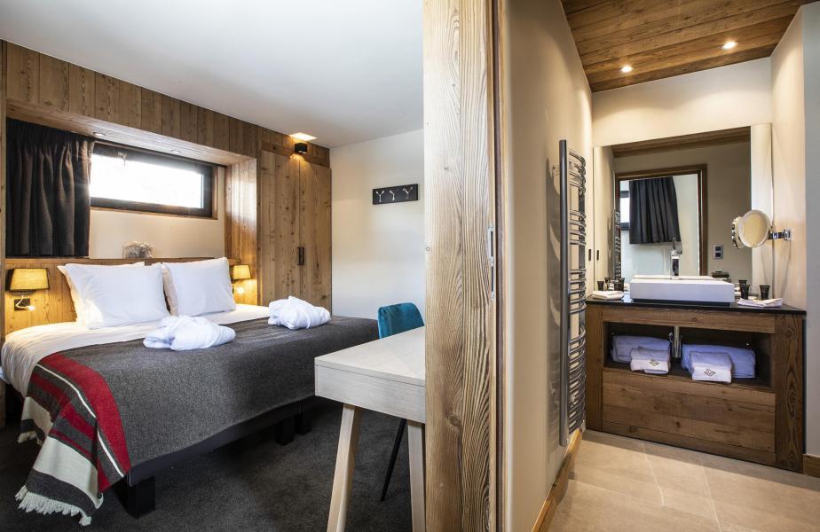 Location au ski Chalet 5 pièces 8 personnes (NIZAM) - Les Chalets du Daria - Alpe d'Huez - Chambre