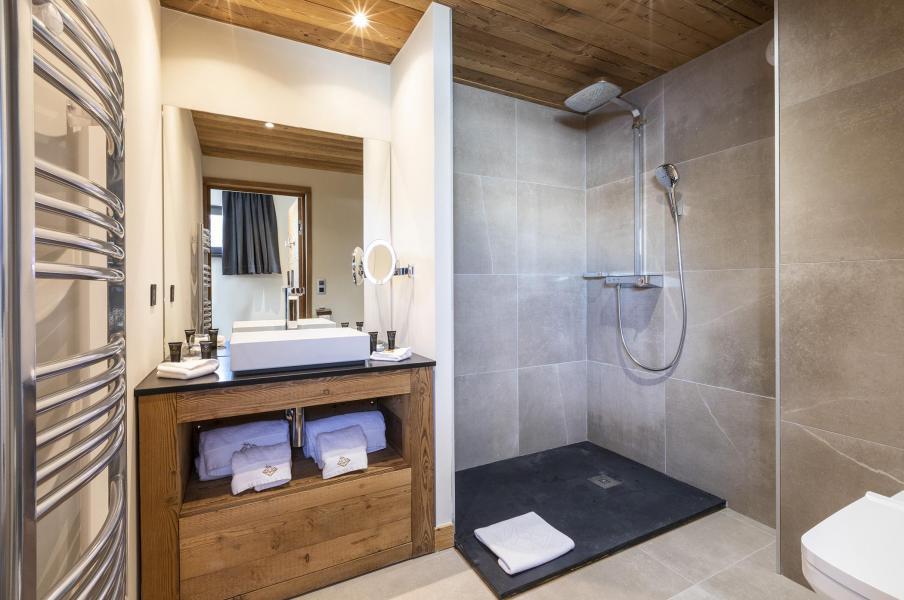 Location au ski Chalet 5 pièces 8 personnes (NIZAM) - Les Chalets du Daria - Alpe d'Huez - Salle de bains