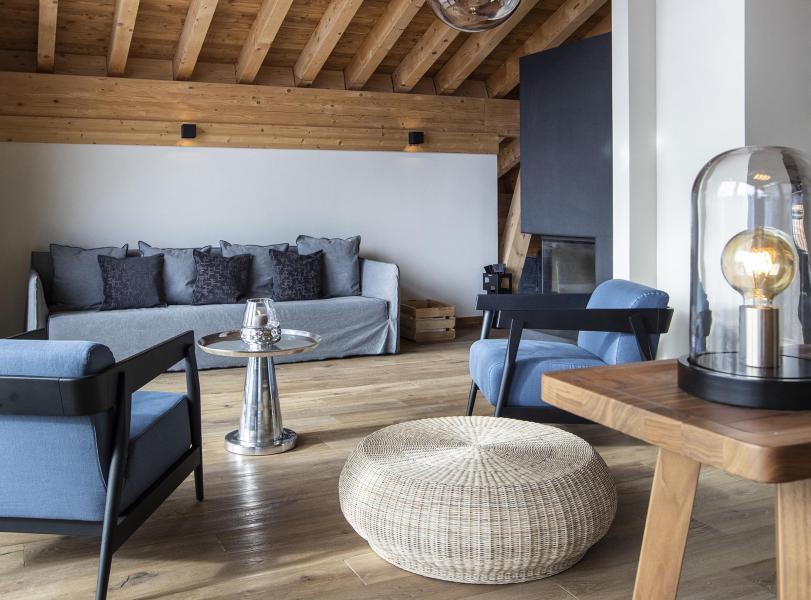 Location au ski Chalet 5 pièces 8 personnes (NIZAM) - Les Chalets du Daria - Alpe d'Huez - Séjour
