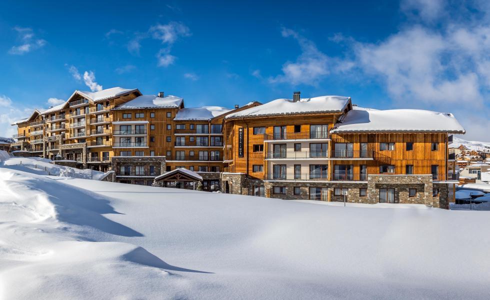 Location au ski Résidence Chalet des Neiges Daria-I Nor - Alpe d'Huez - Extérieur hiver