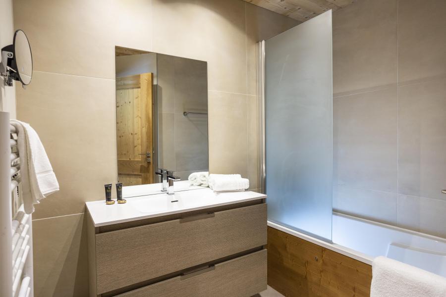 Skiverleih Résidence Chalet des Neiges Daria-I Nor - Alpe d'Huez - Badezimmer