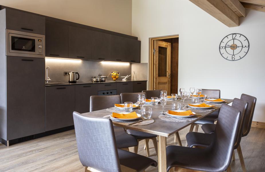 Skiverleih Résidence Chalet des Neiges Daria-I Nor - Alpe d'Huez - Offene Küche