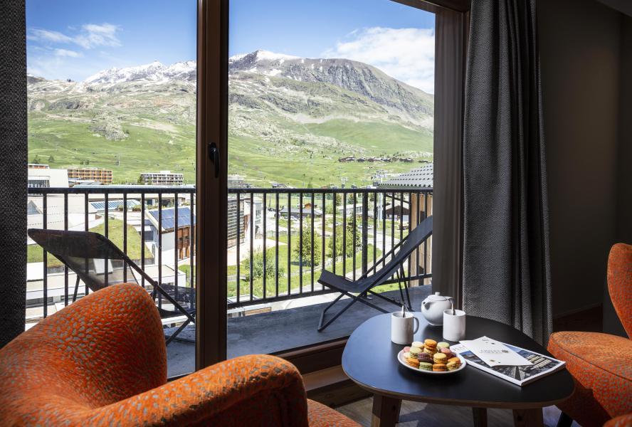 Skiverleih Résidence Chalet des Neiges Daria-I Nor - Alpe d'Huez - Sessel