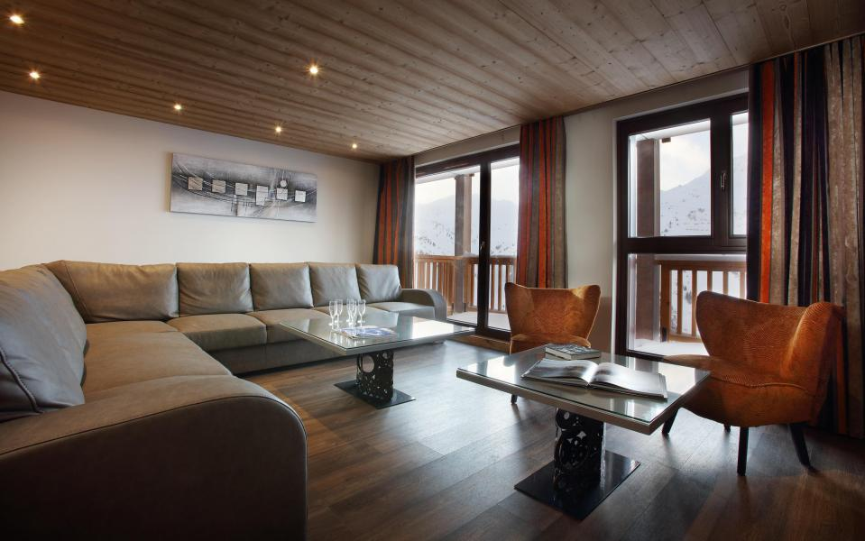 Skiverleih Résidence Chalet des Neiges Daria-I Nor - Alpe d'Huez - Wohnzimmer