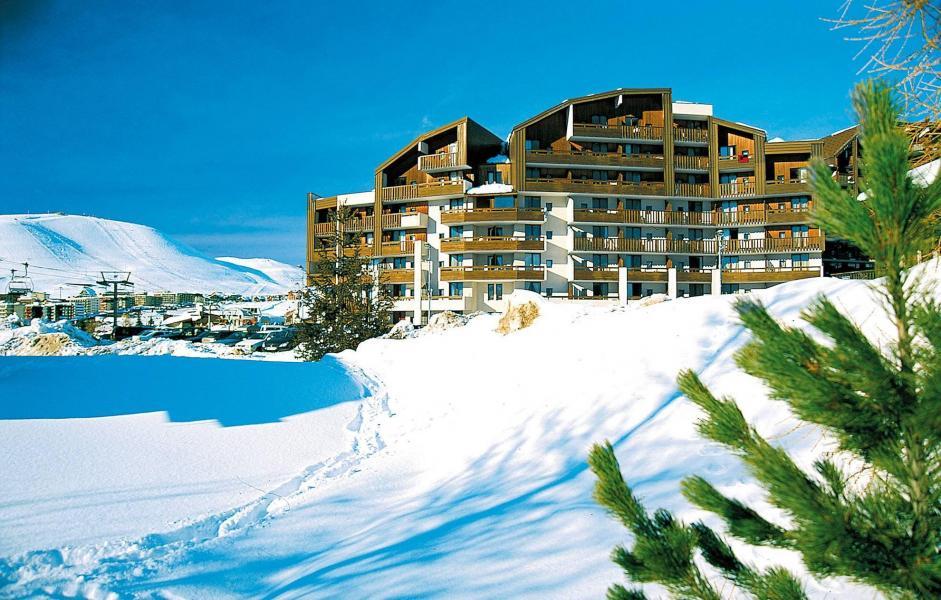 Vakantie in de bergen Résidence le Christiania - Alpe d'Huez - Buiten winter