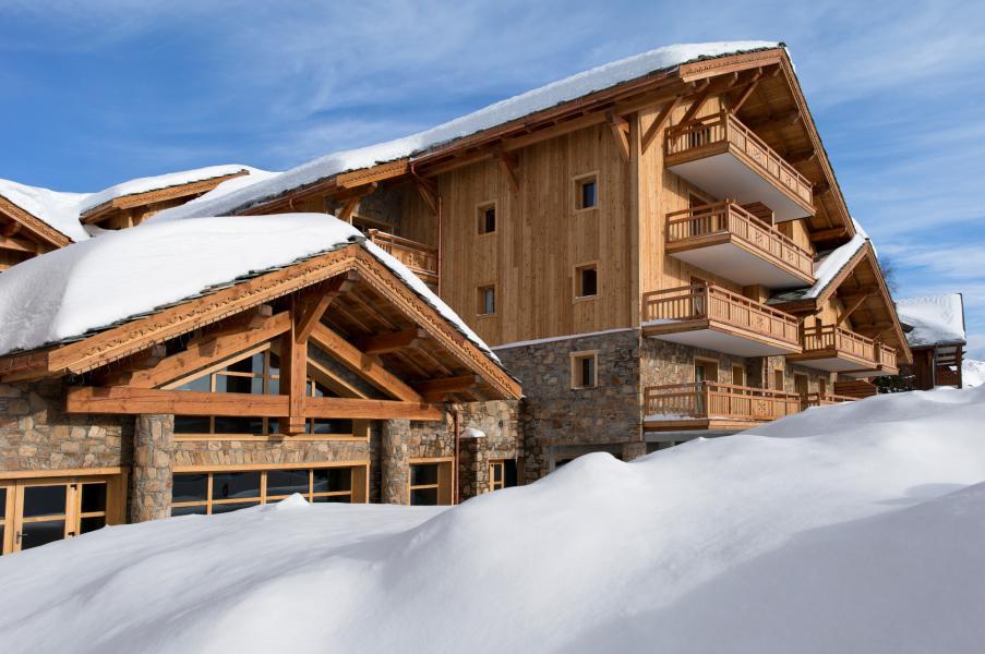 Location au ski Résidence le Cristal de l'Alpe - Alpe d'Huez - Extérieur hiver