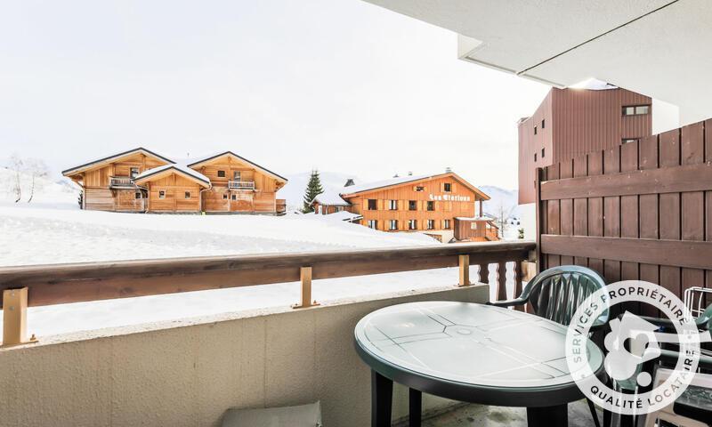 Аренда на лыжном курорте Апартаменты 2 комнат 4 чел. (22m²) - Résidence les Mélèzes - Maeva Home - Alpe d'Huez - зимой под открытым небом