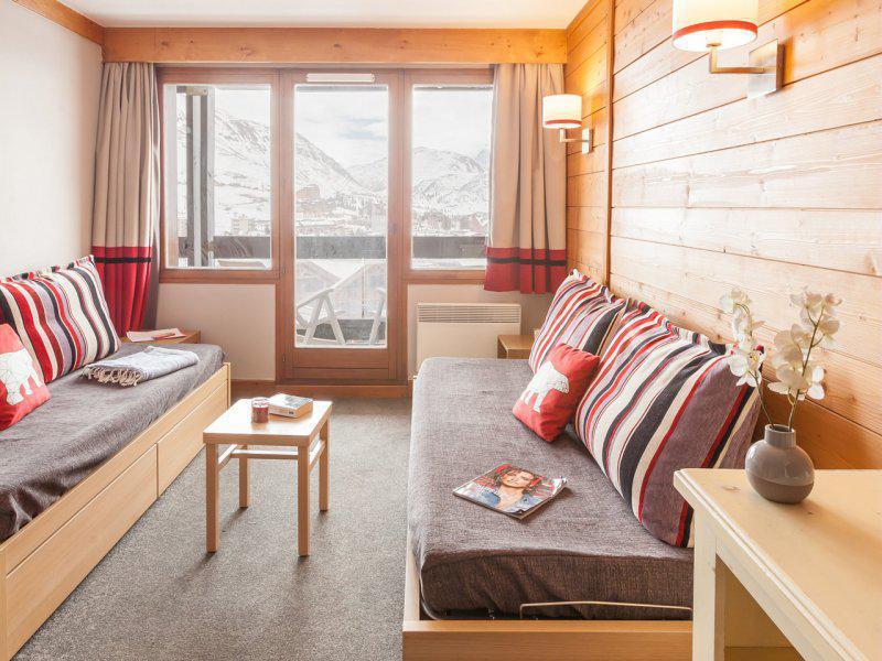 Location au ski Appartement 3 pièces 6-7 personnes - Résidence Pierre & Vacances l'Ours Blanc - Alpe d'Huez