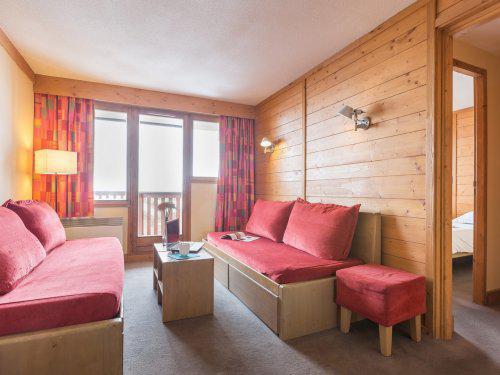 Location au ski Résidence Pierre & Vacances l'Ours Blanc - Alpe d'Huez - Table basse