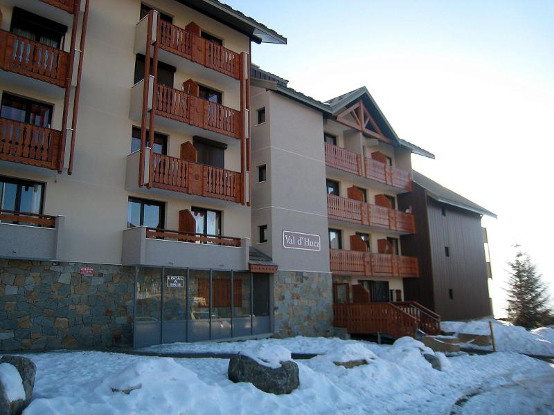 Holiday in mountain resort 1 room apartment 4 people (1) - Val d'Huez - Alpe d'Huez - Winter outside