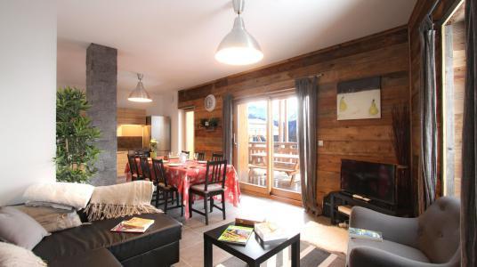 Rent in ski resort Chalet De Sarenne - Alpe d'Huez - Living room