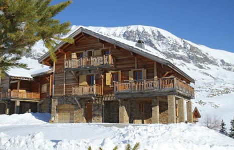 Location Alpe d'Huez : Chalet des Neiges hiver