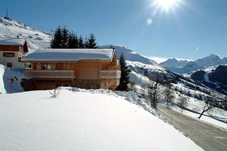 Location Alpe d'Huez : Chalet les Sapins hiver