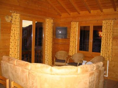 Location au ski Chalet 7 pièces 14 personnes - Chalet Les Sapins - Alpe d'Huez - Coin séjour
