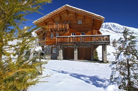 Location au ski Chalet Mélusine - Alpe d'Huez - Extérieur hiver